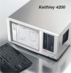 Use the Keithley 4200 along with Lake Shore probe stations