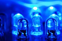 Blue LEDs