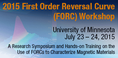2015 FORC Workshop at the University of Minnesota