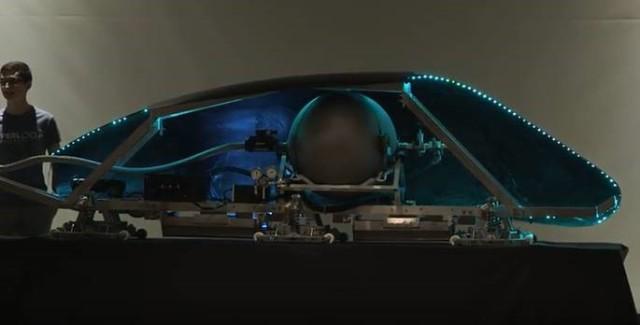 The Virginia Tech Hyperloop pod